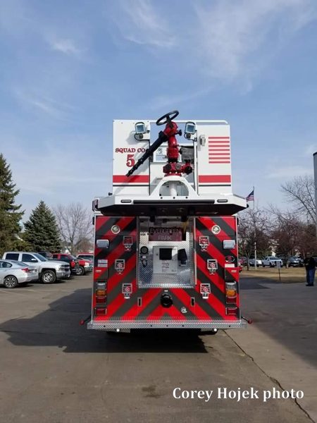 Evergreen Park FD Squad 5