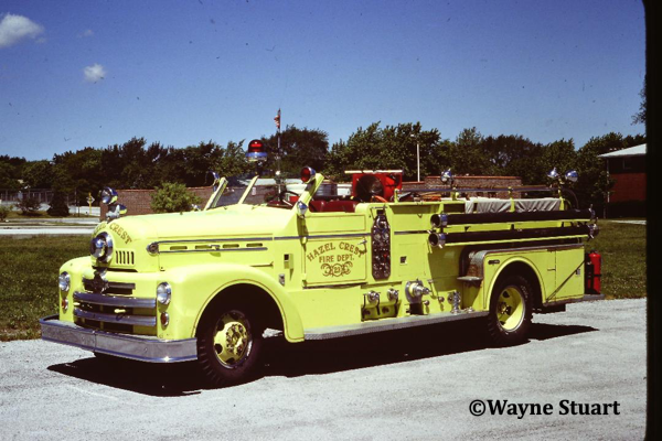 1958 Seagrave fire engine