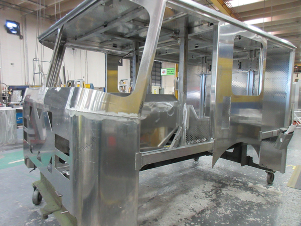 E-ONE cab in production