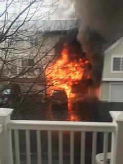 Townhouse fire at 1702 Sienna Court in Wheeling IL 3/15/19