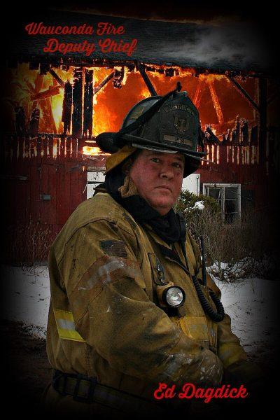 Wauconda Fire District Deputy Fire Chief Ed Dagdick