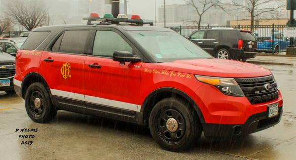 Chicago FD spare buggy for battalion chief