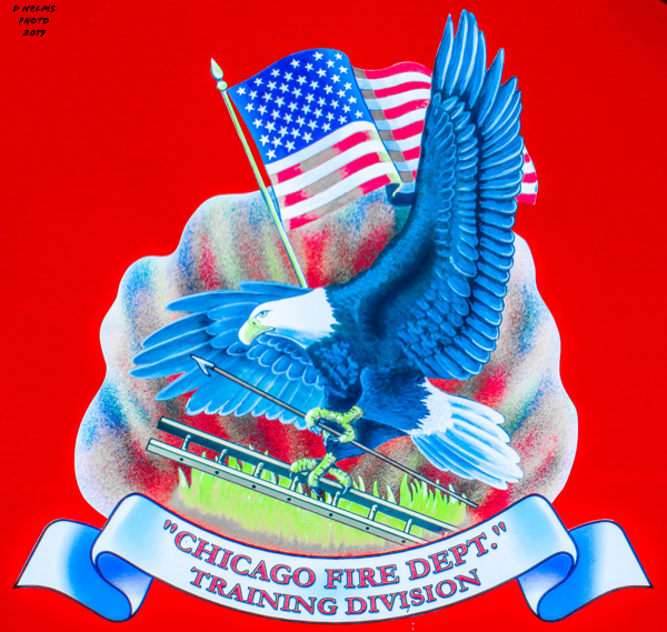 Chicago FD Training Division decal