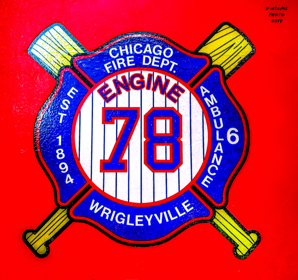 Chicago FD Engine 78 decal