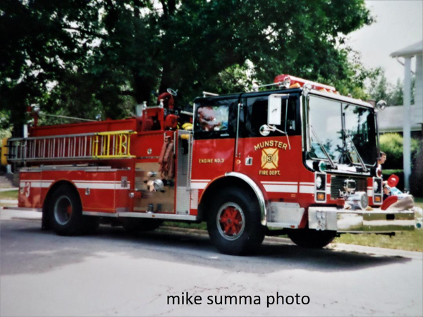 Munster FD Engine 2223, a 1987 Mack MB/Boyer 1500/750