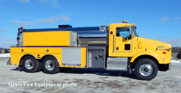 new tanker for the Pingree Grove and Countryside FPD