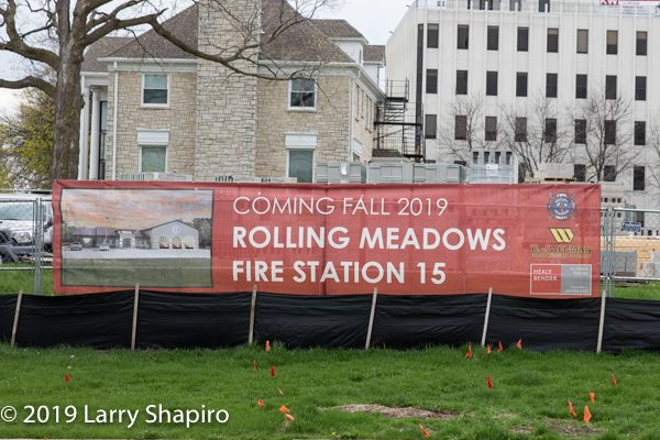Rolling Meadows FD Station 15 under Construction