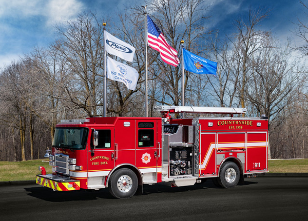 Countryside FPD fire engine