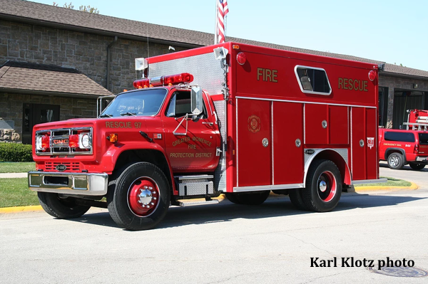 1989 GMC/E-ONE rescue squad