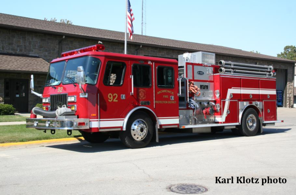1995 E-ONE Sentry fire engine
