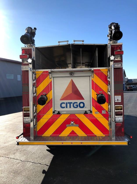 E-ONE industrial fire engine for the Citgo Petroleum Company in Lemont