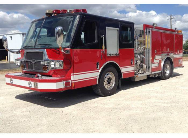 2008 E-ONE Quest fire engine for sale