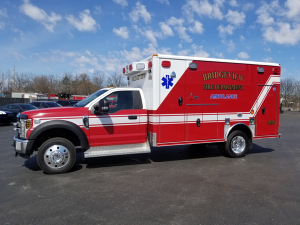 Bridgeview FD Ambulance 406