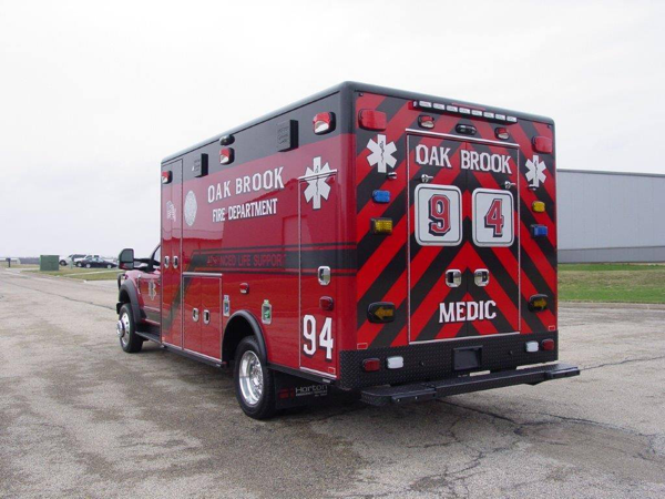 Oakbrook Fire Department Ambulance 94
