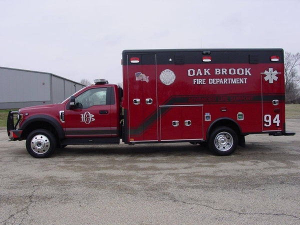 Oakbrook Fire Department Ambulance 94