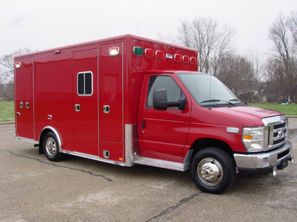 Ford E450/Horton Type III ambulance