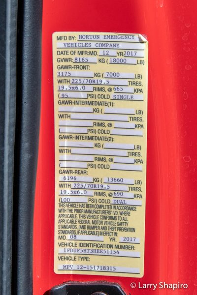 Glencoe Public Safety Ambulance 30 law tag
