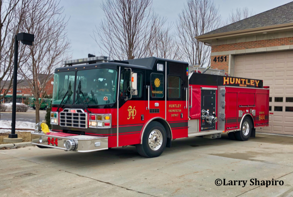 Huntley FPD Engine 944