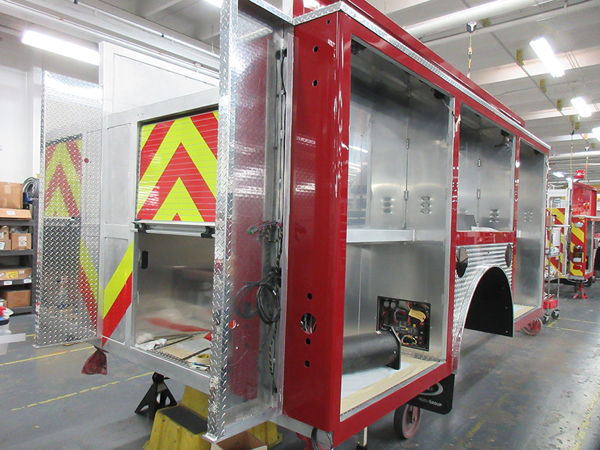 E-ONE fire engine being built so#142294
