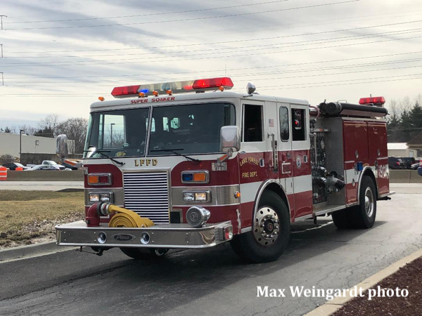 Lake Forest FD Engine 421