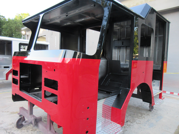 E-ONE fire engine being built for Chicago so#142585