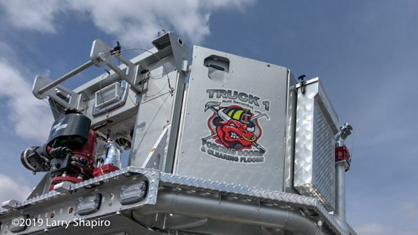 Pasco County FD decal