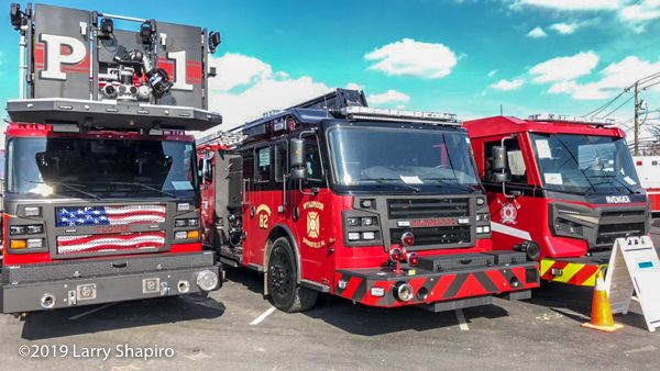 Rosenbauer Commander ACP-55 for Wyndmoor PA