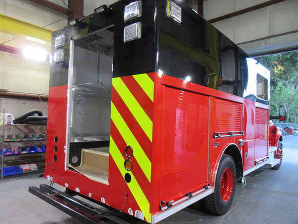 E-ONE fire truck being built so#142284