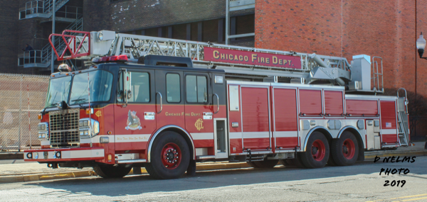 Chicago FD Training Academy truck