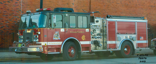 Chicago FD Training Academy engine