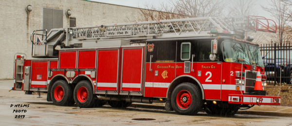 Chicago FD Truck 2