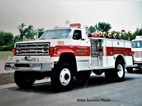Palos FPD Squad 6305 - 1977 GMC/E-One 250/500