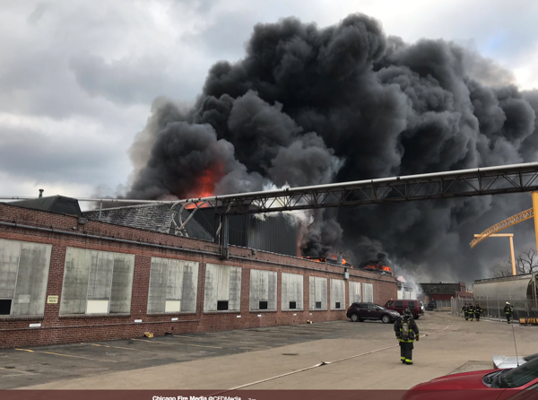 3-11 Alarm fire at 2501 N. Keeler Avenue in Chicago 4-2-19