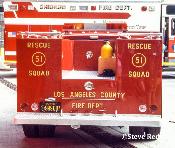Restored LA County Squad 51 from the TV show Emergency!