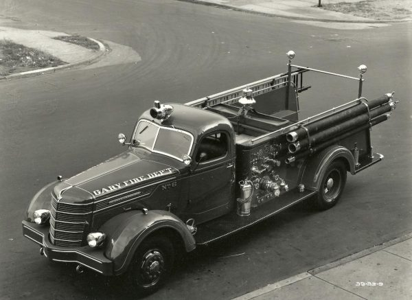 1940 International fire engine from Gary Indiana
