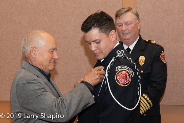 Buffalo Grove FD Lieutenant Alfredo Caballero