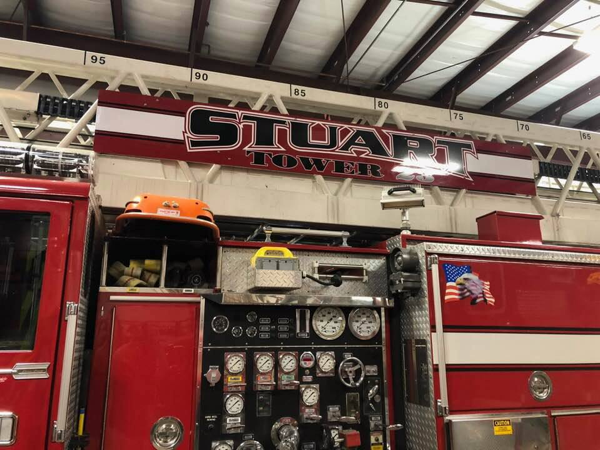 Stuart FD Tower Ladder 23