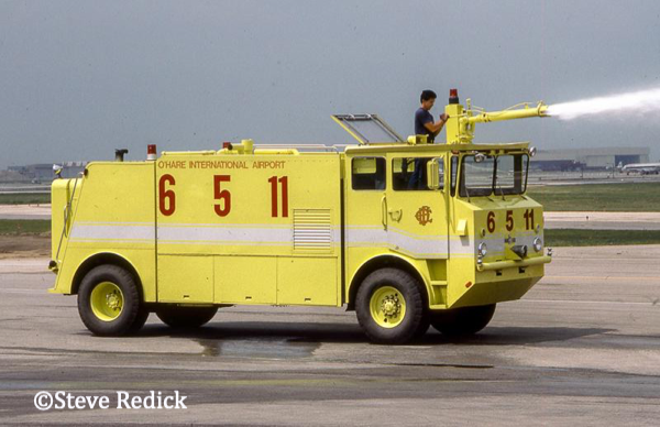 Chicago FD O'Hare Airport ARFF 6511