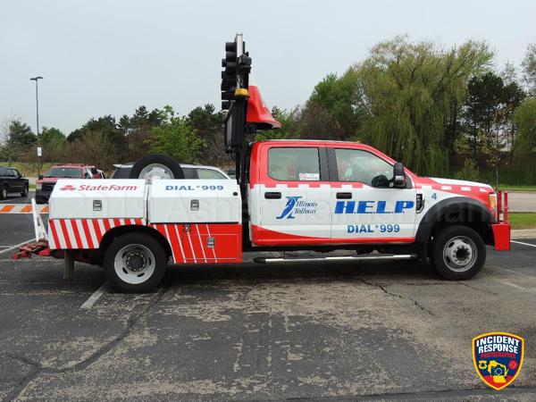 State Farm Insurance HELP truck