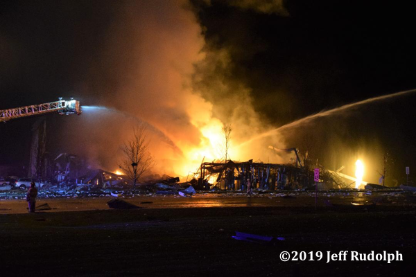 Fatal explosion and fire at the AB Specialty Silicones plant at 3790 Sunset Ave. in Waukegan IL 5/3/19