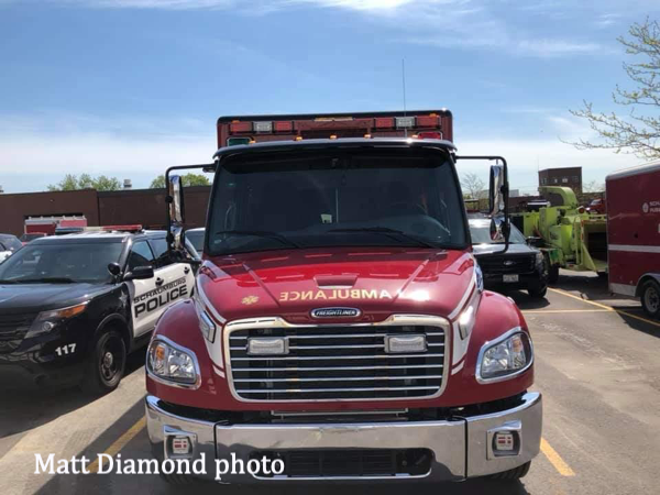 Freightliner M2102 ambulance