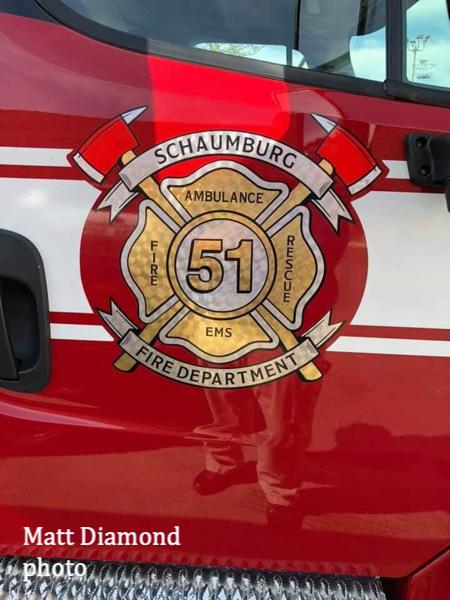 decal for Schaumburg FD Ambulance 51