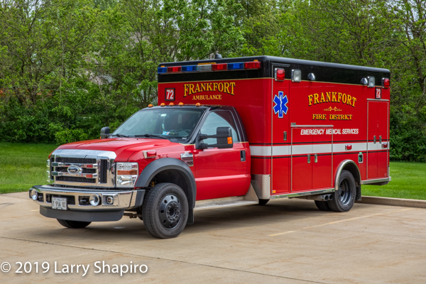 Frankfort FPD Ambulance 72 - 2009 Ford F450/Horton Type I