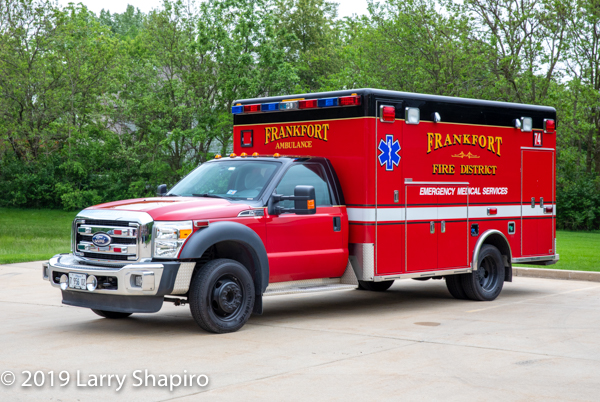 Frankfort FPD Ambulance 74 - 2010 Ford F450/Horton Type I