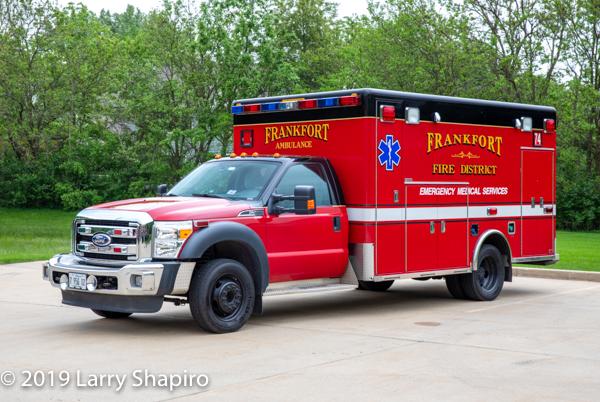 Frankfort FPD Ambulance 74 - 2010 Ford F450/Horton Type I