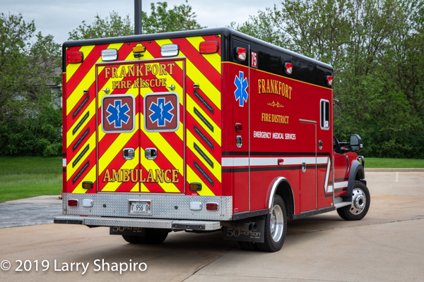 Frankfort FPD Ambulance 75 - 2018 Ford F550/Horton Type I