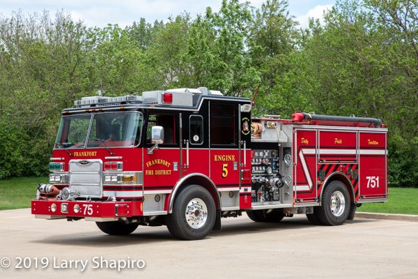 Frankfort FPD Engine 75