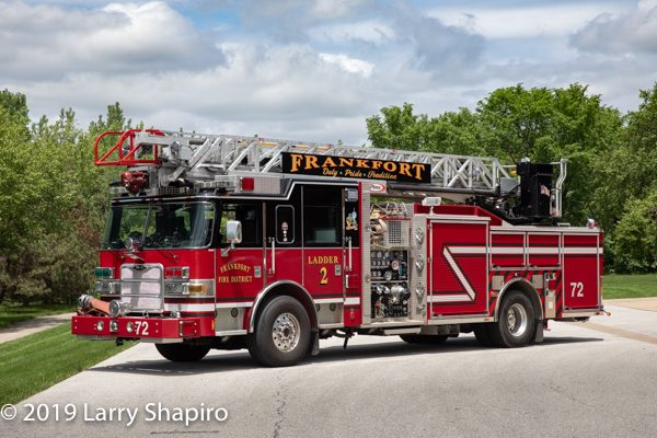 Frankfort FPD Ladder 72