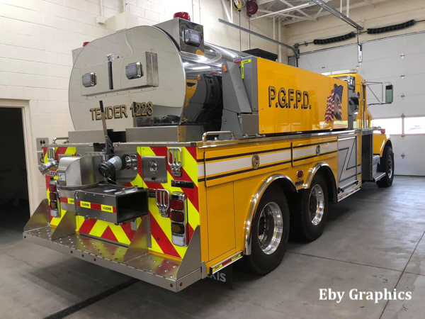 Kenworth/Alexis Tanker 1223 for the Pingree Grove & Countryside FPD