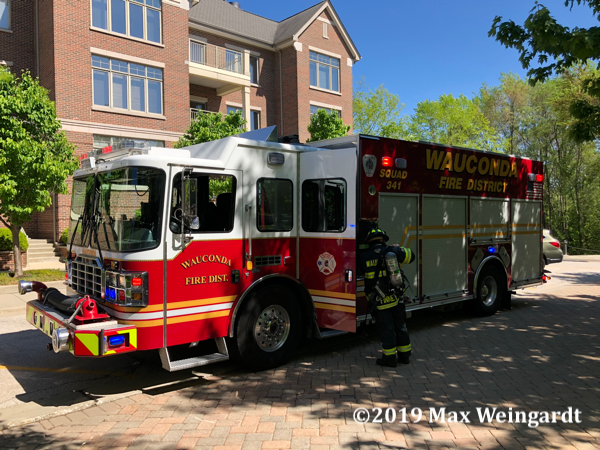Wauconda Fire District Squad 341
